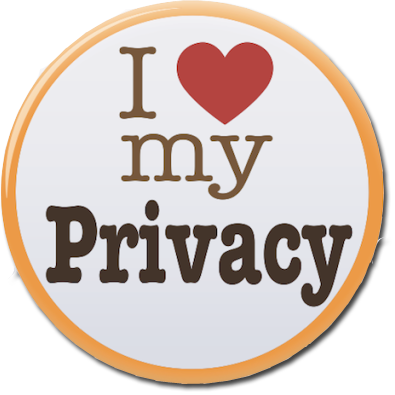 I love my privacy